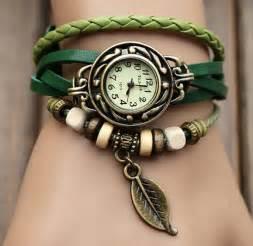 handmade leather bracelet watch jewelry sets lw05 12