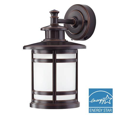 home decorators collection rubbed bronze motion sensor