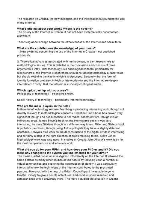 dissertation viva phd thesis viva