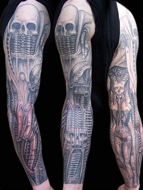 hr giger tattoo 149 best h r giger inspired tattoos images on