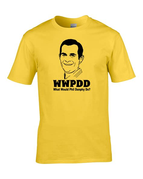 Tshirt Series Bigsize Ld 100 Cm what would phil dunphy do us comedy series inspired men s