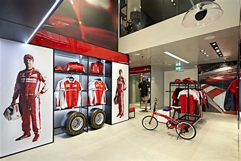Ferrari Gift Shop by Ferrari 187 Retail Design Blog