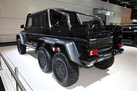 mercedes truck 6x6 interior brabus b63 s because the mercedes g63 amg 6x6 wasn t