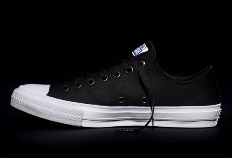 Chuck 2 Black Low converse introduces the comfortable chuck ii