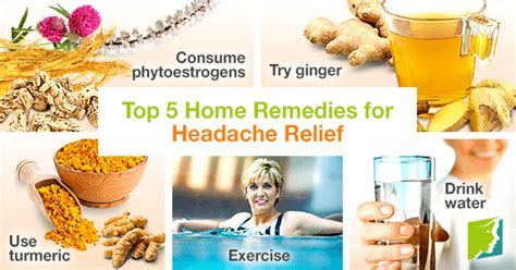 top 5 home remedies for headache relief