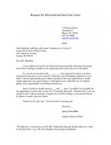 13 Interview Request Letter Photo Job Duties sample letter
