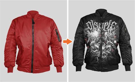 design jaket baseball bomber jacket mockup templates