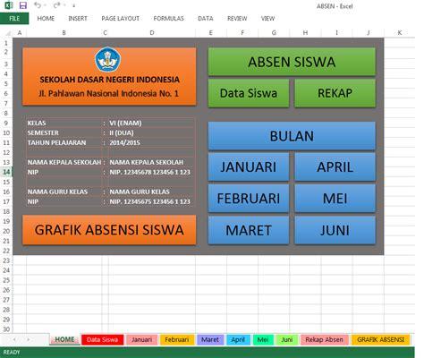 contoh format grafik absensi siswa contoh grafik absensi police 11166