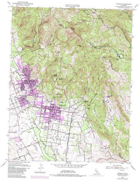 usgs topo maps california sonoma topographic map ca usgs topo 38122c4