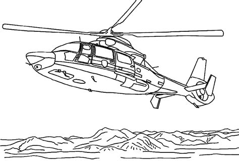 16 Coloring Pages Of Helicopter Print Color Craft Helicopter Coloring Page