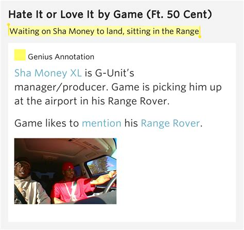 hate it or love it the game waiting on sha money to land sitting in the range hate