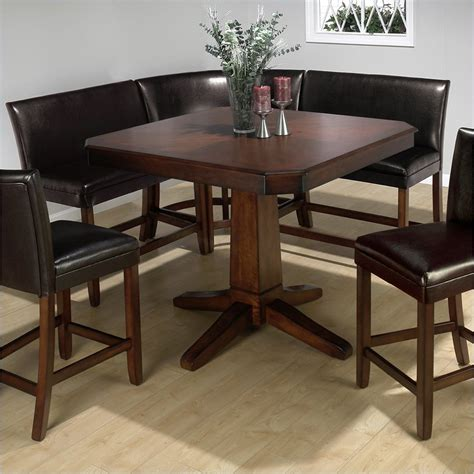 Bench Seat For Kitchen Table Pub Table With Bench Seat Small Home Remodel Ideas 6414