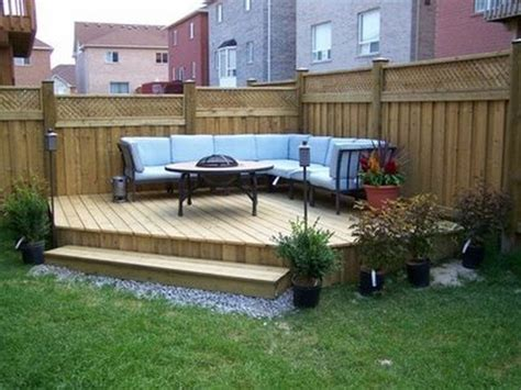 Backyard Ideas Patio by Best 25 Decking Ideas Ideas On Garden Decking