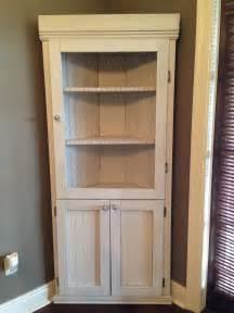 corner media cabinet with hutch diy corner hutch the sweet