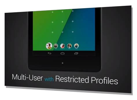 android restricted profiles android 4 3 features and update details revealed