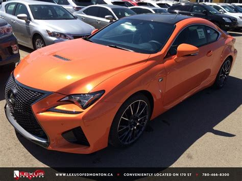 rcf lexus orange new 2015 orange solar flare lexus rc f performance package