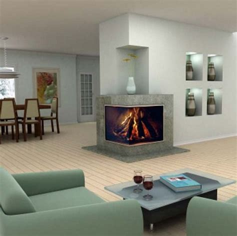 modern sided fireplace 1000 images about modern design 2 sided corner fireplace on modern places and