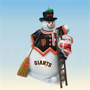 2012 annual san francisco giants ornament the danbury mint