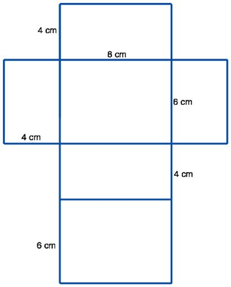 printable surface area nets image gallery nets and surface area