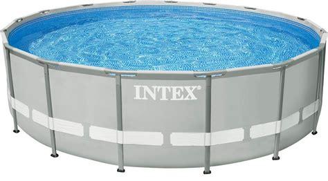 Komplett Pool Mit überdachung by Intex Pool Set Mit Kartuschenfilteranlage 216 488 Cm