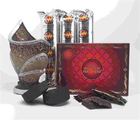 Bakhoor Mini mini bakhoor nasaem incense gift set by nabeel