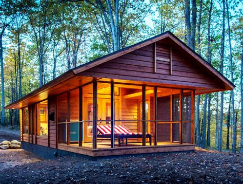 Small Home Escape Tiny Ultraportable Escape Cabin Can Be Moved Anywhere