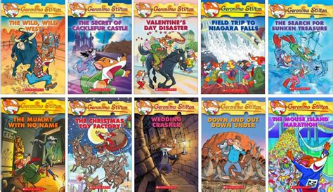 geronimo stilton books pictures our top ten list of series for readers mommynificent