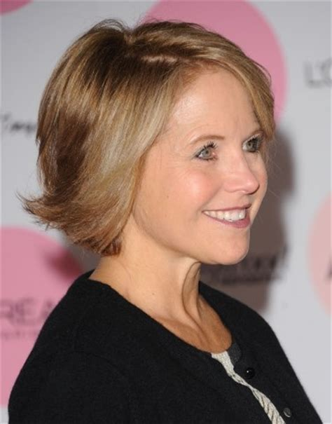 how to style katie couric hair shorts hairstyles and katie o malley on pinterest