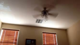 magnificent wobbly ceiling fan wobbly ceiling fan with a