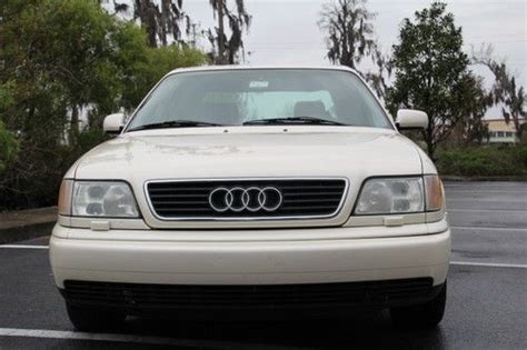 auto air conditioning service 1996 audi a6 transmission control buy used 1996 audi a6 quattro base sedan 4 door 2 8l low mileage in new port richey florida
