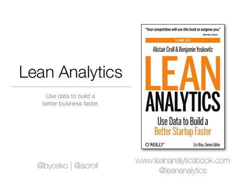 Mba Analytics Programs Montreal by Onlab Japan Introduction To Lean Analytics