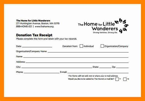 sle donation sheet charity donation form template