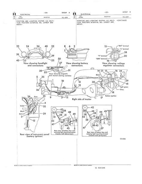 farmall a wiring diagram farmall cub wiring diagram efcaviation