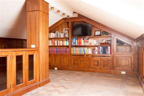 libreria per studio boiserie per lo studio legnoeoltre