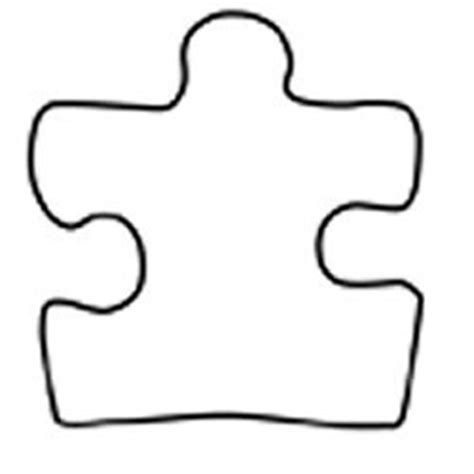 puzzle piece coloring page clipart best