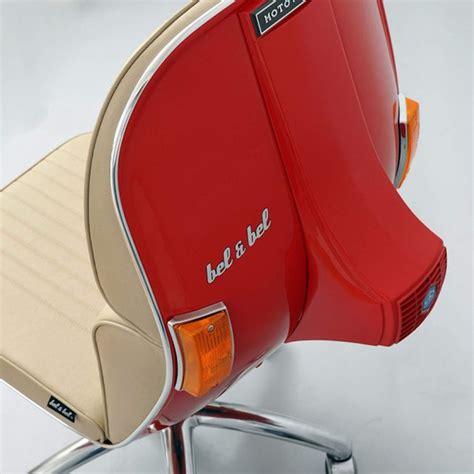 sedia vespa vespa chair by bel bel 187 petagadget