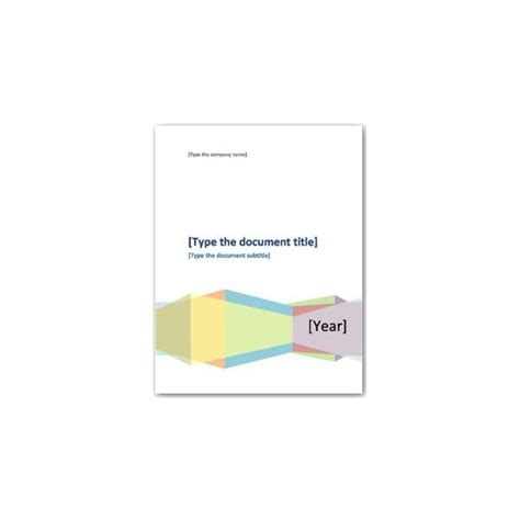 cover page template 8 free word pdf psd documents download