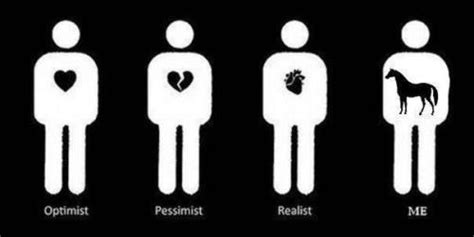 Optimist Oder Pessimist by On