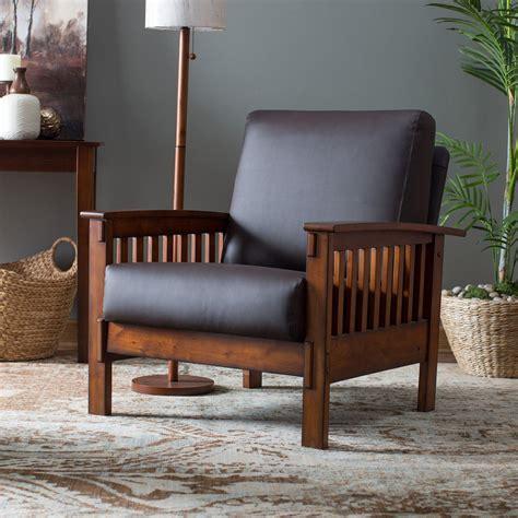 Belham Living Burton Mission Arm Chair Jet Com Mission Style Living Room Chairs