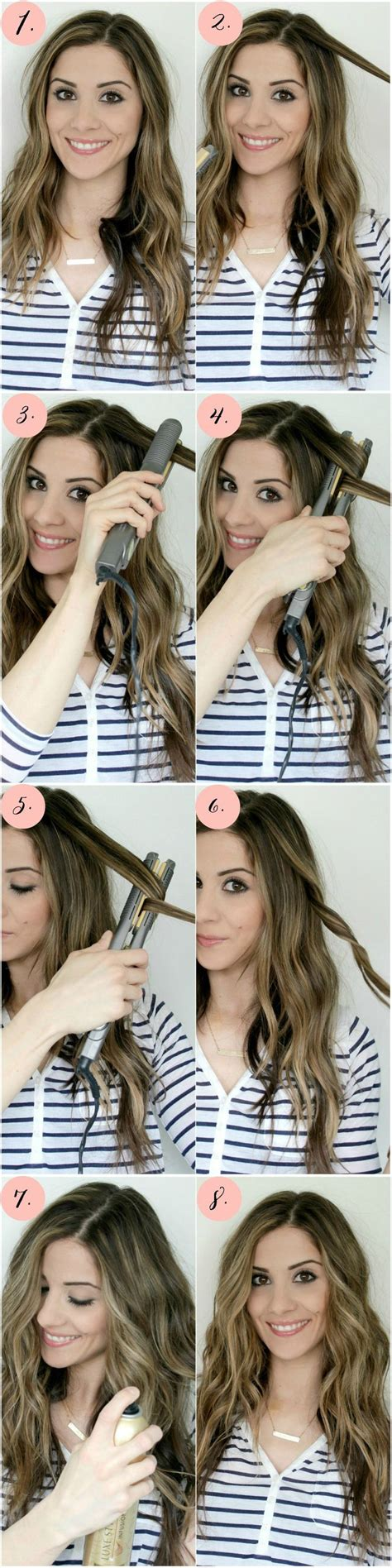 curly hairstyles using straightener 25 best ideas about flat iron curls on pinterest hair