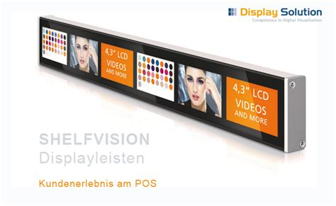 Digital Shelf by Shelfvision Intelligent In Store Signage Shelf Label