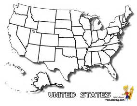 usa coloring pages earthy map printables yescoloring free america