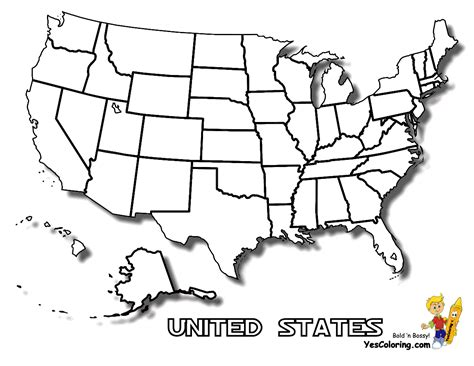 united states outline coloring page free state maps massachusetts south dakota map