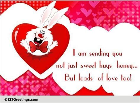 Hugs For Someone Special! Free Hug Your Sweetheart Day