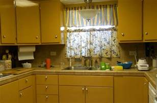 Yellow Kitchen Cabinet distressed and antiqued kitchen cabinetsblack kitchen cabinets