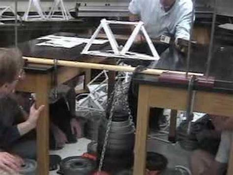 How To Make A Strong Paper Bridge - paper bridge world record 1071 lbs