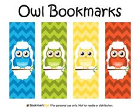 printable owl bookmarks heavenly skull printable bookmarks for the home