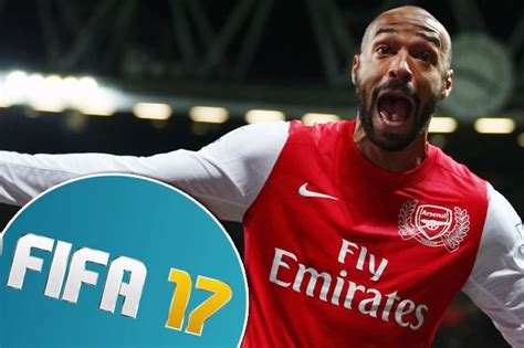 arsenal fifa 17 arsenal legend thierry henry is coming out of retirement