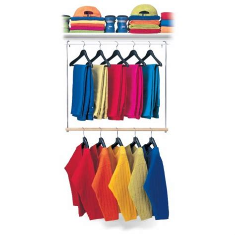 Closet Hanging Rod by Save 7 11 Lynk Closet Doubler Hang Rod White