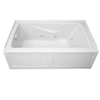 eljer bathtubs eljer cabrillo 60 inch by 32 inch integral apron
